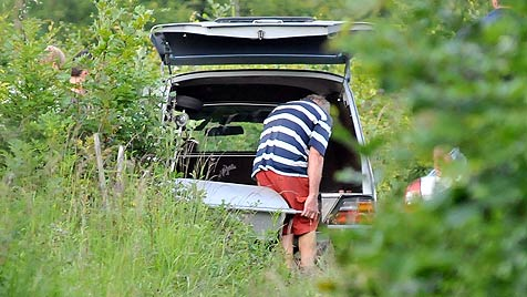 Heimatgemeinde Bad Ischl weint um ermordete Paulina (Bild: APA/Zeppelzauer)