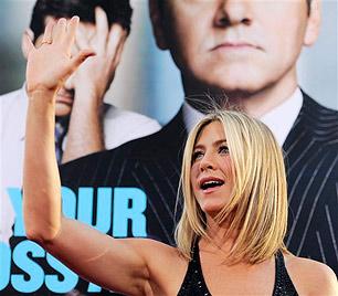 Jennifer Aniston will sich ein Jahr Auszeit nehmen (Bild: AP)