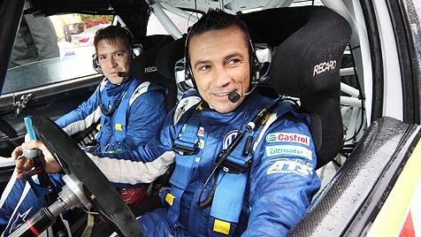 Rallye-Ass Andreas Waldherr von Pkw erdrückt (Bild: Peter Tomschi)