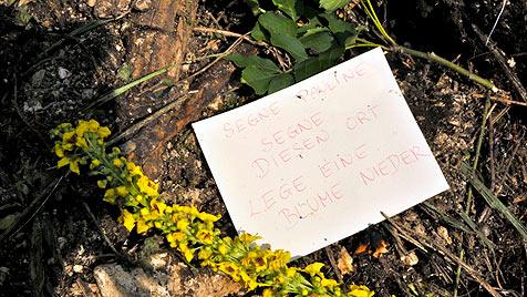 Heimatgemeinde Bad Ischl weint um ermordete Paulina (Bild: APA/Andreas Zeppelzauer)