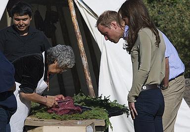 Kanada-Reise: Herzogin Catherine erschreckend dünn! (Bild: AFP)