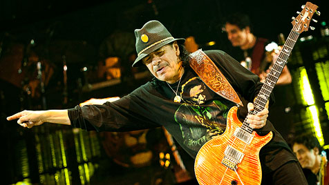 Herr Santana und ein bisserl Vorprogramm (Bild: Andreas Graf)