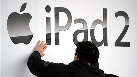 iPad-Attrappen aus Ton im kanadischen Handel in Umlauf (Bild: AP)