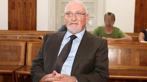 """""""Duell auf A10"""" - Ex-Landeschef von Sachsen vor Gericht (Bild: APA/Neumayr/MMV)"""
