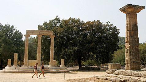 Forscher-These: Tsunami zerstörte das antike Olympia (Bild: EPA)