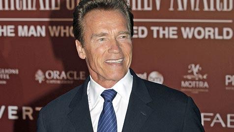 """Schwarzenegger ist """"back"""": Soll Held in Western spielen (Bild: EPA)"""