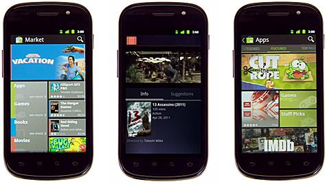 Android Market nun auch fürs Handy generalüberholt (Bild: Google)