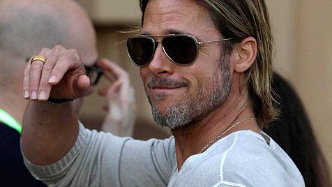 """Brad Pitt fühlt sich """"wie der reichste Mann der Welt"""" (Bild: AP)"""