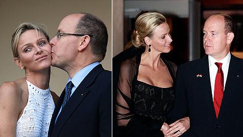 Die seltsame Hochzeitsreise von Albert und Charlene (Bild: AFP)