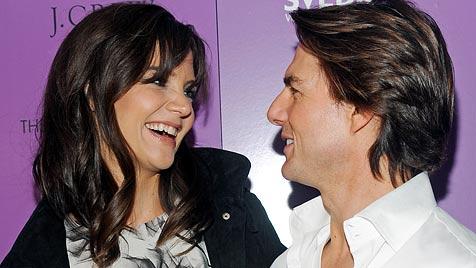 """Katie Holmes: """"Tom ist ein männlicher Romantiker!"""" (Bild: AP)"""