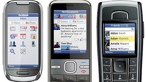 Facebook bringt Java-App für ältere Handymodelle (Bild: Facebook)