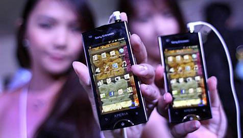 Sony Ericsson knabbert an Folgen des Japan-Bebens (Bild: AP)
