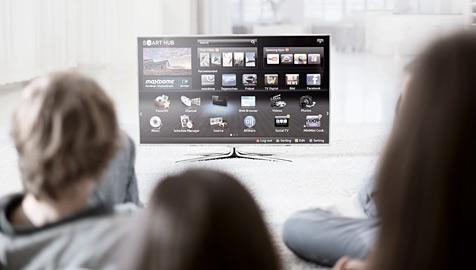 Hybrid-TV-Geräte in Europa stark im Kommen (Bild: Samsung)