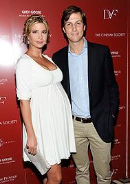 Ivanka Trump brachte ihr erstes Kind zur Welt (Bild: AP)