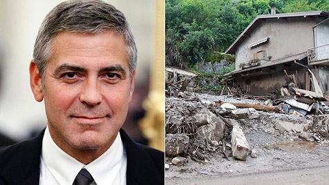 Bürgermeister von Laglio bittet George Clooney um Hilfe (Bild: AP)