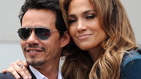J. Lo und Anthony feiern zusammen seinen Geburtstag (Bild: AP)