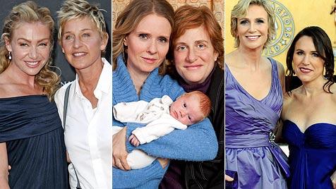 Verliebt in eine Frau: Hollywoods lesbische Stars (Bild: AP EPA)