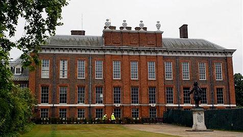 William und Kate beziehen Räume im Kensington-Palast