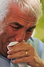 Eltern von Amy Winehouse weinen um ihre Tochter (Bild: AFP)