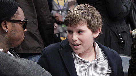 Arnies Sohn Christopher durfte Spital verlassen (Bild: AP)