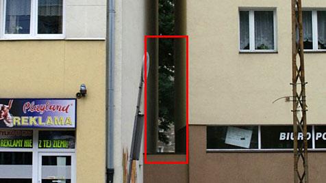 In Polen wird das schmalste Haus der Welt gebaut (Bild: Centrala)