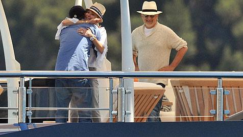 Stevens Spielbergs Promi-Boot ärgert Italo-Küstenwache (Bild: Viennreport)