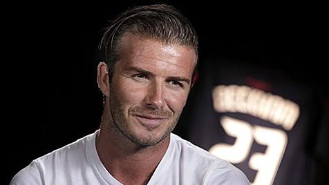 David Beckham entwirft Männer-Unterwäsche (Bild: AP)