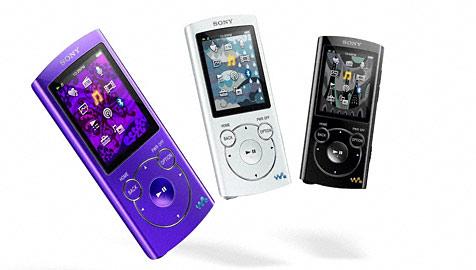 Sony präsentiert neue Walkman-Palette (Bild: Sony)