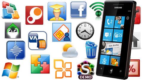 """Vernichtendes Testurteil: Kein App-Store ist """"gut"""" (Bild: marketplace.windowsphone.com; Samsung)"""
