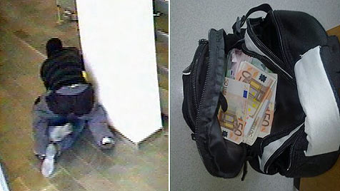 Bankräuber dürfte Profi-Boxer sein - Beute sichergestellt (Bild: SID Niederösterreich)