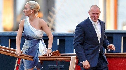 Queen-Enkelin Zara Phillips gab Mike Tindall das Jawort (Bild: AP)