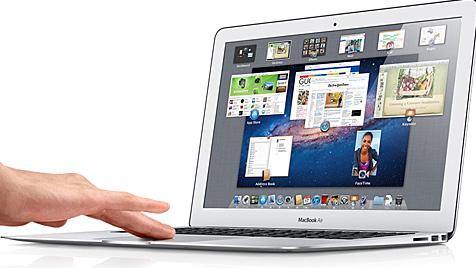 Glücksspiel um SSD-Speicher beim Kauf des MacBook Air (Bild: Apple)