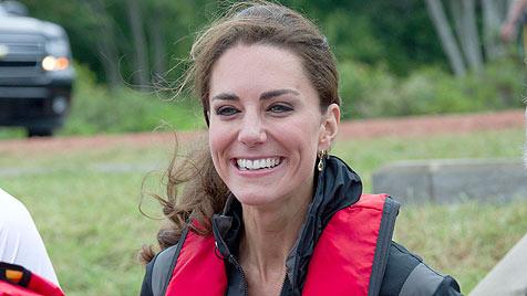 Kate trainierte mit der härtesten Kampfeinheit in GB (Bild: AP)