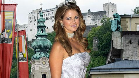 Schwedenhappen Madeleine kommt nach Salzburg (Bild: AFP, AP)