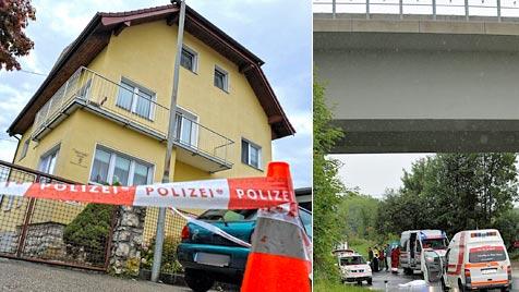 OÖ: Todessprung von A1-Brücke nach Mordversuch an Ex (Bild: APA/MANFRED FESL)