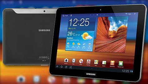 Gericht bestätigt Verkaufsverbot für Galaxy Tab (Bild: Samsung)