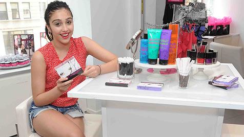 Madonnas Tochter stellt mit 14 erste Kosmetiklinie vor (Bild: AP)