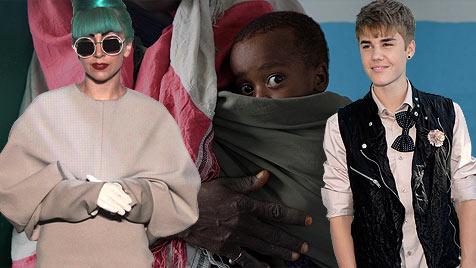 Musikweltstars helfen Opfern der Dürrekatastrophe (Bild: EPA)