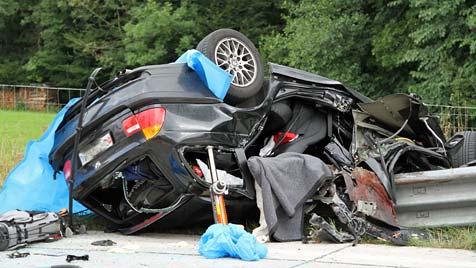 Tödlicher Unfall auf der A1 in Salzburg - Mann enthauptet (Bild: APA/WWW.FMT-PICTURES.AT/Fankhauser)