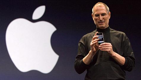 Apple erstmals wertvollste Firma der Welt (Bild: EPA)