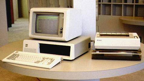 """Der """"Personal Computer"""" feiert 30. Geburtstag (Bild: AP)"""