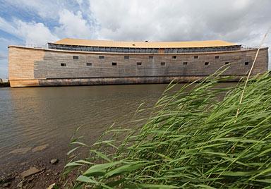 150 m, 4 Etagen: Niederländer baut Arche Noah nach (Bild: AFP)