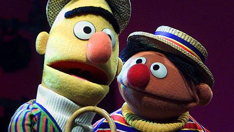 Ernie und Bert werden wohl niemals heiraten (Bild: AP)
