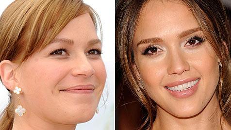 Mutterfreuden für Jessica Alba und Franka Potente (Bild: EPA/AP)