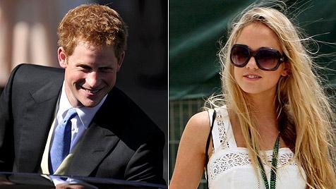 Briten-Prinz Harry schickt Dessous-Model in die Wüste