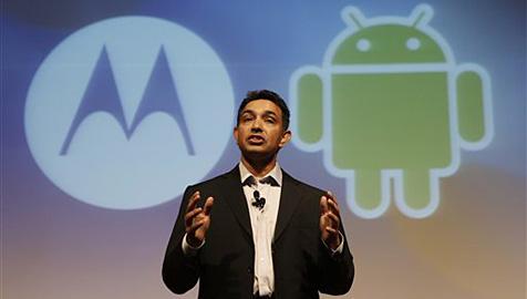 Wilde Spekulationen über Googles Motorola-Kauf (Bild: AP)