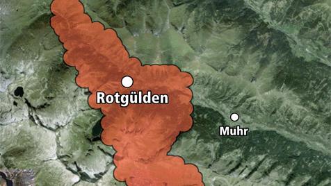 """Salzburg: Firma will auf """"Goldenes Riesenei"""" stoßen (Bild: Krone)"""