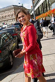 Victoria von Schweden ist endlich schwanger (Bild: AP)
