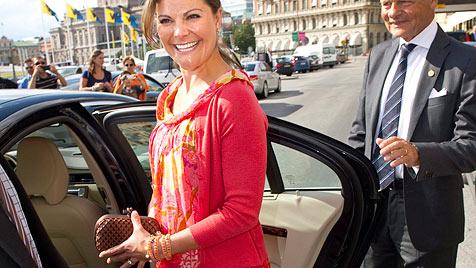 Victoria von Schweden ist endlich schwanger (Bild: EPA)