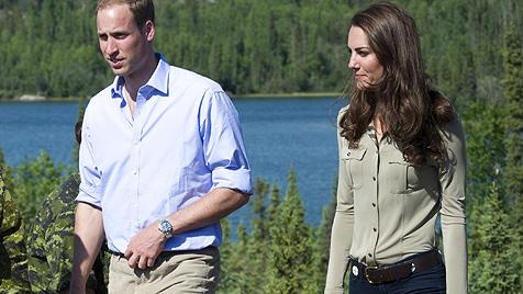 William hat für seine dünne Kate kräftig zugelegt (Bild: EPA)